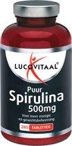 Lucovitaal Super Raw Food Spirulina tabletten - 280 tabletten -Voedingssupplementen