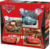 Dsiney 3 in 1 Cars - Puzzel