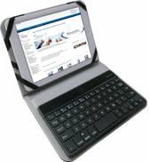 Bluetooth Keyboard voor de Archos Elements 70 Xenon, Toetsenbord Hoes, merk i12Cover