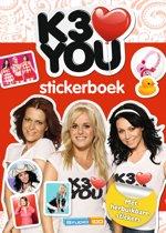 K3 - Stickerboek - K3 Loves You