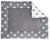 Boxkleed 80x100cm Little star anthracite