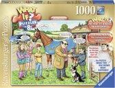 Ravensburger What if? 8 The racehorse - Legpuzzel - 1000 Stukjes