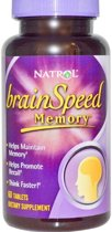 Natrol Voedingssupplementen BrainSpeed Memory (60 tablets) - Natrol
