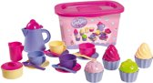 Unico Servies Cup Cake Set