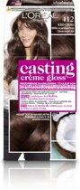 L'Oréal Paris Casting Crème Gloss - 4.12 Iced Cacao - Crèmekleuring