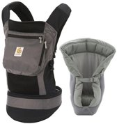 Ergobaby Bundle of Joy (Performance Collection) - Geboortepakket, Draagzak - Charcoal Black