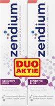 Zendium Sensitive Plus - 75 ml - Tandpasta - 2 stuks - Voordeelverpakking