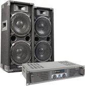 MAX 'Dark Night 28' geluidsinstallatie - 1600W max.