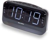 Salora CR616 - Klokradio - scherm: 1.8 inch - zwart, wit