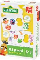 Sesamstraat Puzzelparen 123 - Educatief Spel