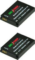 ChiliPower Samsung SLB-10A, SBL-10A accu - 2 stuks verpakking