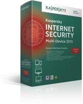 Kaspersky, Internet Security 2015 Multi Device RB (1 Device) (Dutch / French)