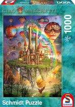 Schmidt Puzzel - Regenboog Eiland - 1000 Stukjes