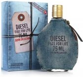 Diesel Fuel For Life Men Denim - 75ml - Eau de toilette