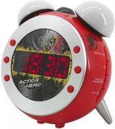 Soundmaster UR140RO (rot) Uhrenradio mit Projektion und dimmbaren Aufwachlicht (UR140RO)