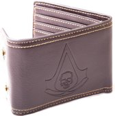 Assassin's Creed Black Flag - Leather Wallet with Snap Buttons