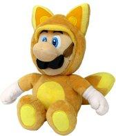 Super Mario Bros Fox Luigi 33 Cm Pluche