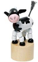 Goki Drukfiguren boerderij koe