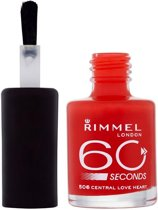 Rimmel 60 seconds finish nailpolish - 605 Purple Reign - Nailpolish