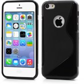 S-Line Wave TPU Case Apple iPhone 5C Black
