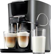 Philips Senseo Latte Duo HD7857/50 - Koffiepadapparaat - Titanium/zwart