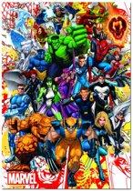 Educa De superhelden van Marvel - 500 stukjes
