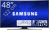 Samsung UE48JU6500 - Led-tv - 48 inch - Ultra HD - Curved - Smart-tv - Zwart