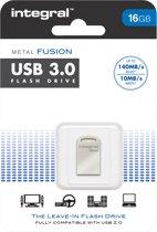 Integral 16GB USB3.0 Metal Fusion USB Stick