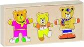 Goki Aankleedpuzzel - Berenfamilie
