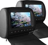 Xtrons HD905 DVD Hoofdsteun met 9 inch scherm