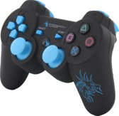 Dragon War Wireless PlayStation 3 Dragon Shock Bluetooth Controller - Zwart (PS3)