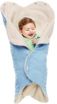 Wallaboo baby wrapper nore soft blue (verwacht augustus 2014)