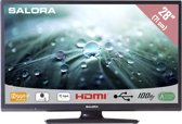 Salora 28LED9100C - Led-tv - 28 inch - HD-ready - Zwart