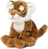 WWF Tijger Wildlife Floppy - Knuffel - 23 cm