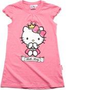 Hello Kitty Meisjes Nachthemd - roze - Maat 116