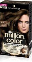 Schwarzkopf Million Color 6-0 - Haarkleuring