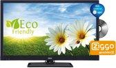AKAI ALED2422BK - Led-tv met ingebouwde DVD-speler- 24 inch - HD Ready - Zwart