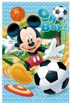 Disney fleece deken Mickey Mouse