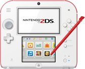 Nintendo 2DS Wit + Rood