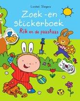 Zoek -en stickerboek Rik en de paashaas