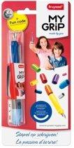 My Grip Vulpen - Roze/Blauw/Paars