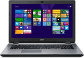 Aspire E17 E5-771-51HT 17.3i FHD (non glare) i5-5200U 8GB 1T HDD Intel HD Graphics 5500 DVDRW 802.11ac + BT chiclet Iron Silver qwerty