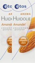 Etos Aroma Huid Olie Amandel - 2 x 100 ml - Verzorging