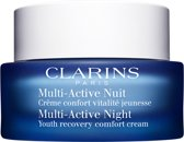 Clarins Multi-active Nuit - 50 ml - Dagcreme
