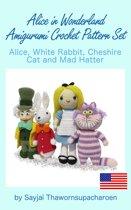 Alice in Wonderland Amigurumi Crochet Pattern Set