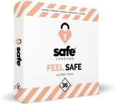 Safe condoms feel save ul.thin 36 st