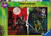 Ninja Turtles Puzzel - Actie tegen Shredder