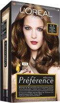 L'Oréal Paris Preference Récital - 5.3 Licht Goudbruin - Haarkleuring