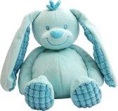 Knuffel konijn blauw