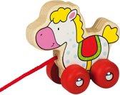 Gollnest & Kiesel Houten Paard Trekvoertuig